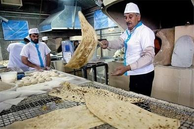 اعلام نرخ جدید نان به صورت کشوری