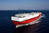 """Delivery of Next-generation Environmentally Friendly Car Carrier Fueled by LNG """"Century Highway Green"""""""