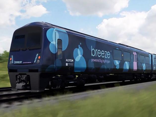 Breeze UK hydrogen multiple-unit proposal unveiled