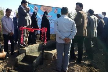 افتتاح پروژههای عجیب در هفته دولت: از دیوار تا جوی آب! +تصاویر
