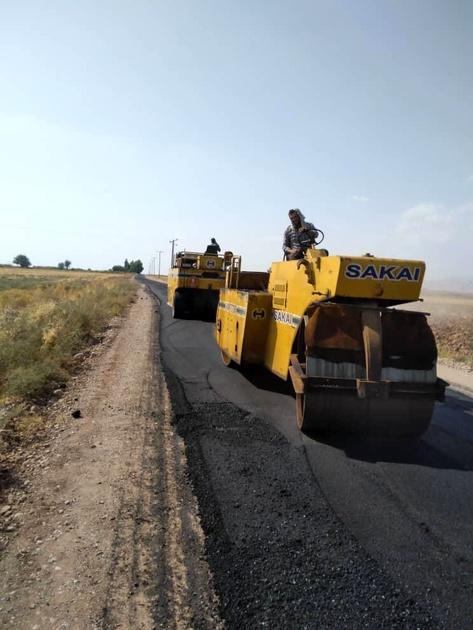 اجرای طرح های ارتقای کیفیت راهداری در حوزه شهرستان گرمسار