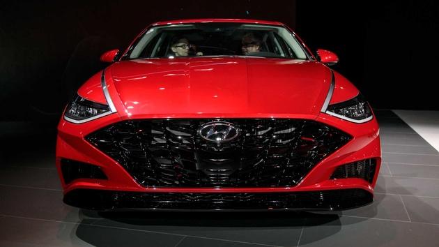 2020 Hyundai Sonata N Rendered Imagining Meaner Model