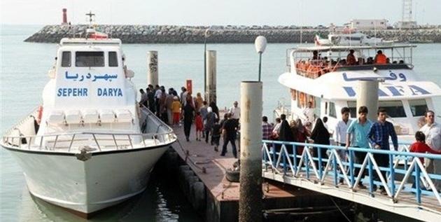 کاهش پنج درصدی مسافر و گردشگر دریایی در نوروز ۹۸