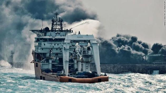 دلیل برخورد «سانچی» با کشتی چینی چه بود؟