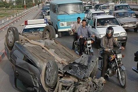 واژگونی خودرو در آذربایجان شرقی دو کشته و دومصدوم برجاگذاشت