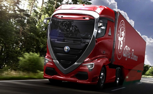 Alfa Romeo Truck Would Beautify The Commercial Segment