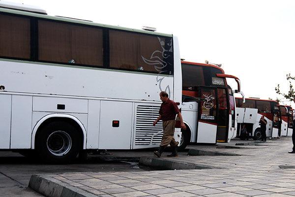امکان نوسازی ناوگان مینیبوس و اتوبوس بین جادهای نیست