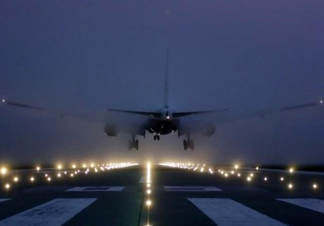 انجام پروازهای گیلان در بارش شدید