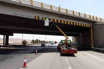 آشکارسازی ۳۸ نقطه پرتصادف جادهای در استان کرمان