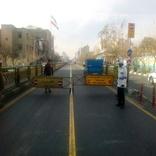 راهبندها؛ تردد اتوبوسها در خط  یک بی آرتی را با مشکل مواجه کرد