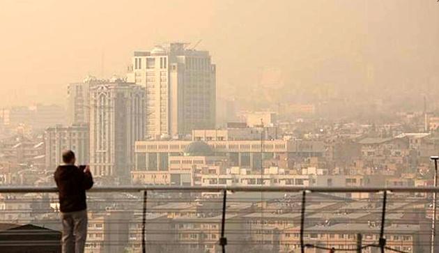صعود آلودگی هوا به رتبه چهارم مرگ و میر زودرس/ افزایش انتشار آلاینده ازن در ایران