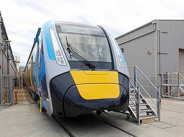 Melbourne High Capacity Metro Trains on test