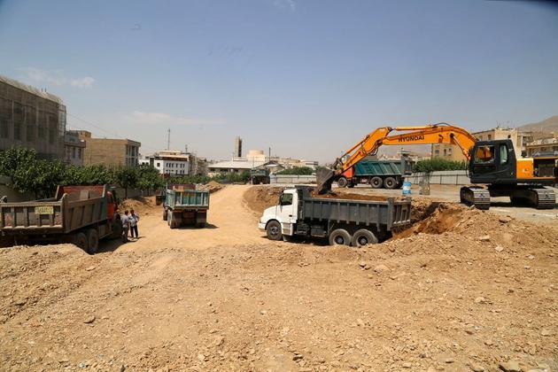 حفاری خط ۱۰ مترو از میدان اتریش تهران آغاز شد