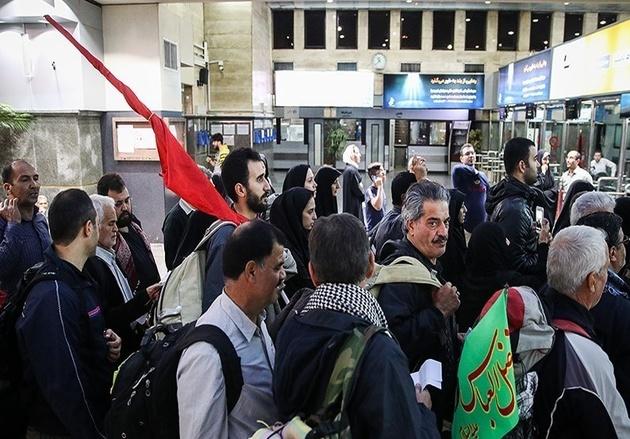 اعزام ۲۳۰ هزار زائر توسط خطوط ریلی استان مرکزی به کرمانشاه و اهواز