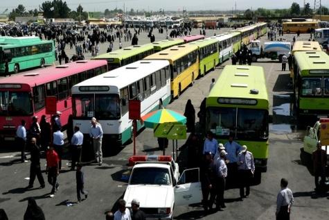 افزایش ۱۵ تا ۳۰ درصدی قیمت بلیط اتوبوس در سال ۹۵