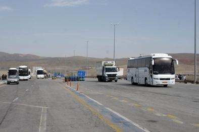 کاهش ۵۵ درصدی ورود وسایل نقلیه به استان ایلام