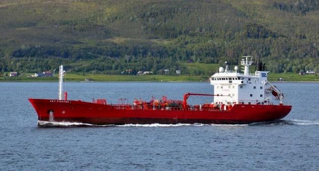 Two crewmen die on tanker after inhaling toxic gas