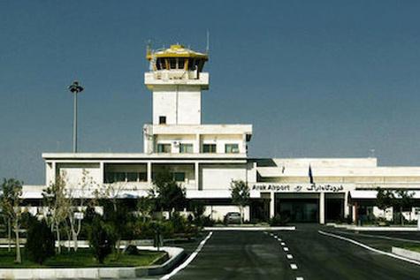 برقراری یک خط پروازی جدید با هواپیمای ATR از فرودگاه اراک