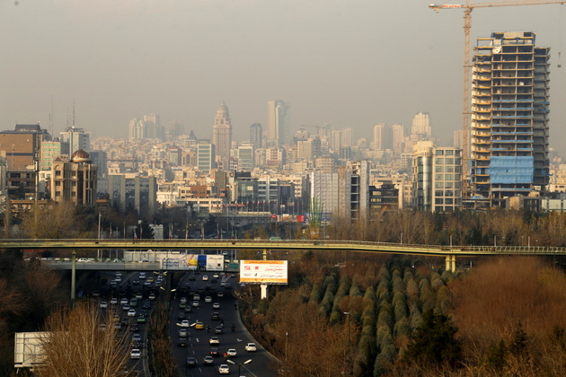 کیفیت و دمای هوای تهران در روز جاری/ تعداد روزهای آلوده در پایتخت