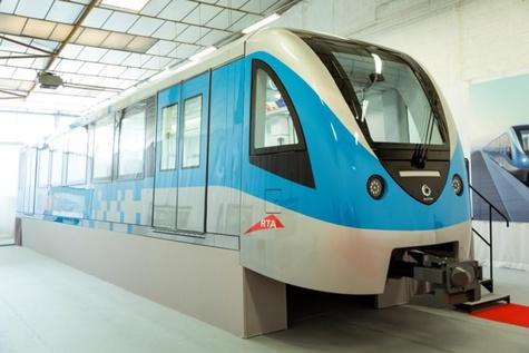 Dubai RTA reviews Alstom-made mock-up for new metro trains