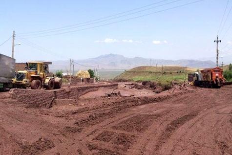 راههای روستایی اندیکا با کمترین بارندگی مسدود می شوند
