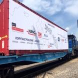 سفر 8روزه یک قطار باری آزمایشی از ایران به لهستان