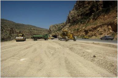 ۱۶۱ طرح بهسازی راه روستایی در استان کرمانشاه در حال اجرا است
