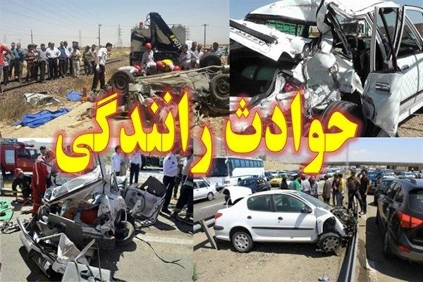 505 تن در سوانح رانندگی همدان جان باختند