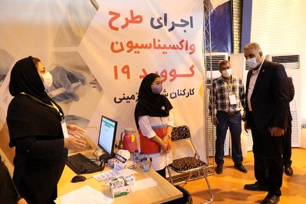 انجام واکسیناسیون ۷۰ درصد از کارکنان شرکت بهره برداری مترو تهران