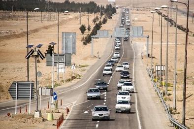 افزایش ۱۴ درصدی تردد در جادههای همدان