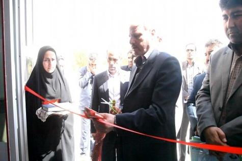 افتتاح ساختمان امدادی اداری آموزشی هلال احمر گرمه
