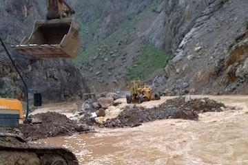 خسارت ۲۰۳ میلیاردی به ابنیه فنی استانهای گیلان و مازندران