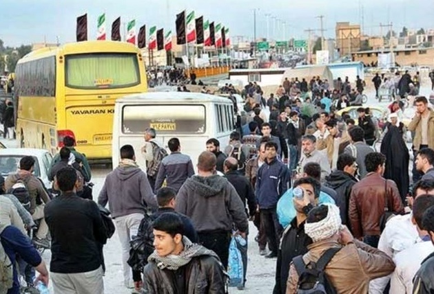 اکثر زائران ایرانی مراسم اربعین به کشور بازگشتهاند