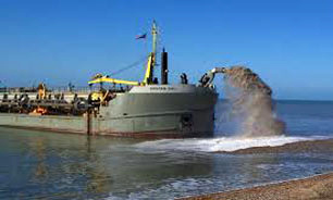 تاثیر متقابل جریانات رسوبی دریا و نگهداری  بنادر