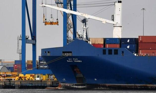 کشتی سعودی فرانسه را بدون بارگیری سلاح به مقصد اسپانیا ترک کرد