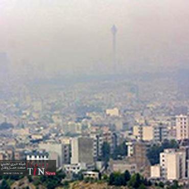 """◄ هوای تهران برای افراد حساس """" ناسالم """" اعلام شد"""