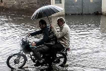 گزارش تصویری / اهواز؛ وقتی که باران ببارد…