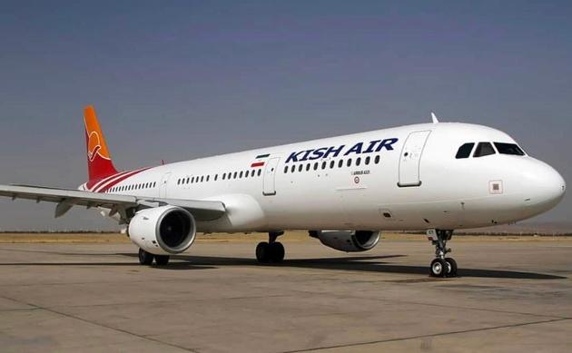 پرواز تهران-کیش در فرودگاه شیراز به زمین نشست
