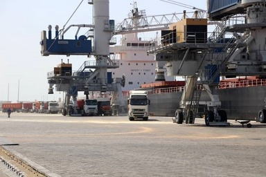 ۳۸ پروژه بندری و دریایی در بندر چابهار در دست اجرا است