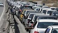 وضعیت ترافیک در کندوان و هراز سنگین است