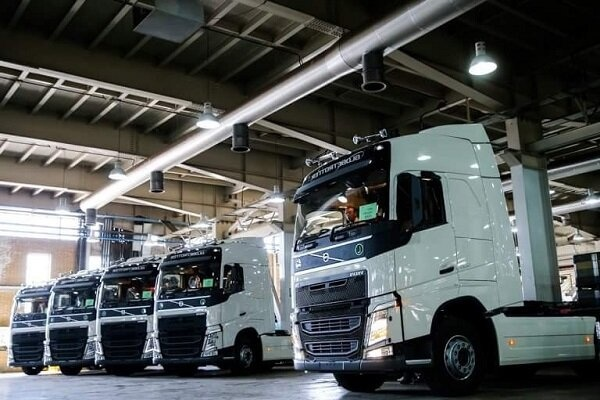 خودروهای سنگین داخلی پیشتاز کیفیت بالا