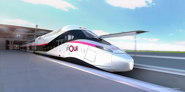 Alstom receives an SNCF order for 100 next-generation very high speed trains