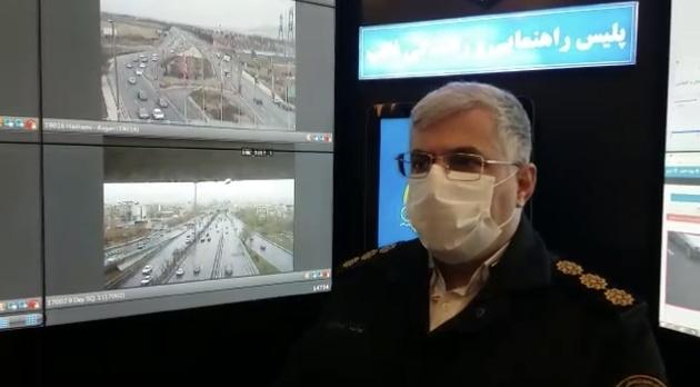 آمادگی پلیس برای اجرای محدودیتهای روز طبیعت