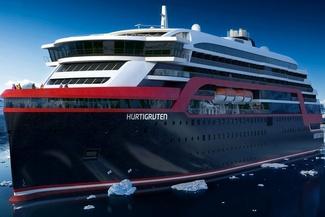 حرکت نخستین کشتی هیبریدی جهان در دریای نروژ +تصاویر
