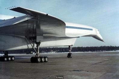 هواپیمای روسی که قرار بود رقیب «کنکورد» باشد