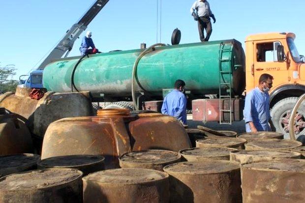 کشف 110 هزار لیتر سوخت قاچاق در سیستان و بلوچستان