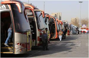 تامین 5000 دستگاه ناوگان اتوبوس برای جابهجایی زائران مشهد