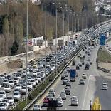 تردد درمحورهای برون شهری حدود 2 درصد افزایش یافت