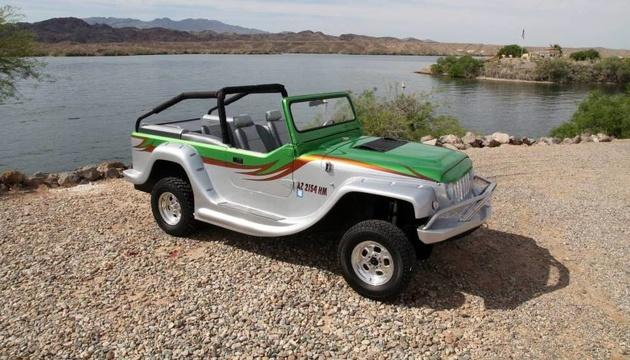 خودرو آبی خاکی پرودرایور