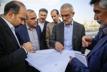 بازدید پورسیدآقایی از پروژههای حملونقل و ترافیک شهرداری منطقه ۴